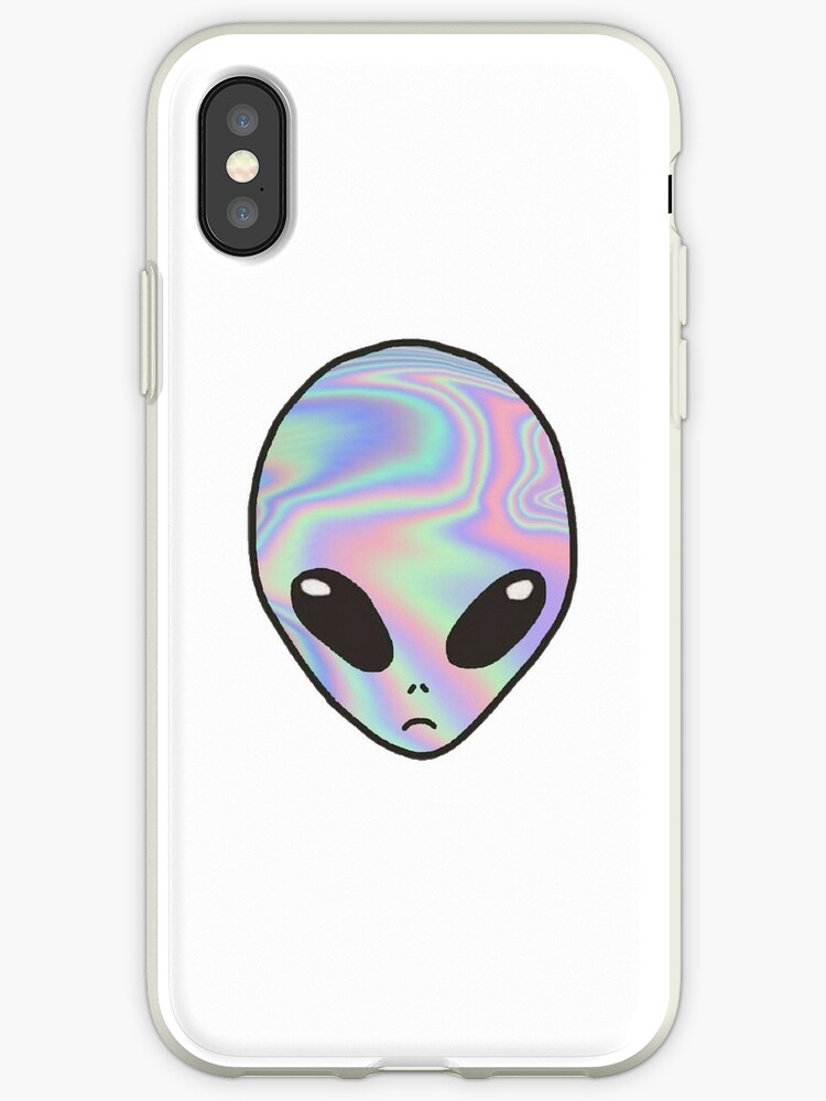 promo code 38be5 45be8 'Pastel Alien | Trippy, Tumblr Aesthetic, Glitch, Cute, Trendy' iPhone Case  by sophiebrochard