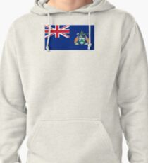 Flag of Ascension Island  Pullover Hoodie