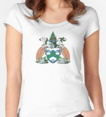 Coat of Arms of Ascension Island Women's Fitted Scoop T-Shirt