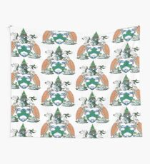 Coat of Arms of Ascension Island Wall Tapestry