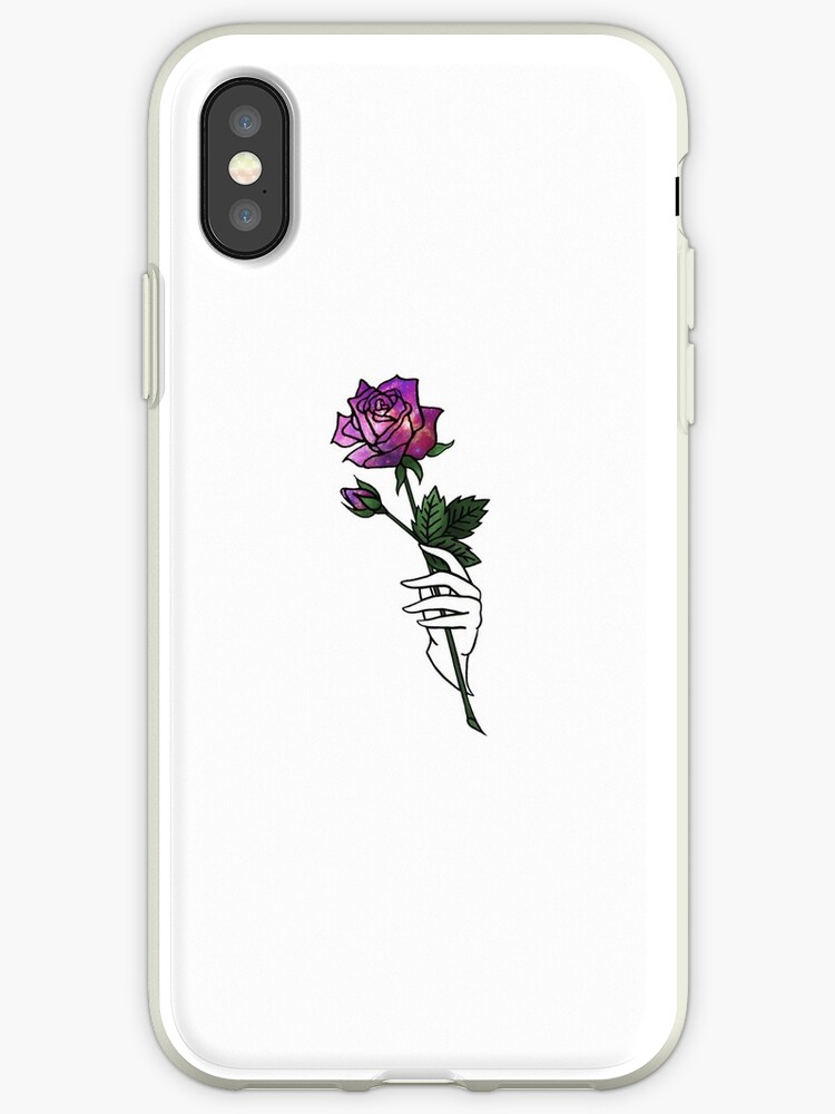 new concept 76f18 d7107 'Galaxy Rose | Trippy, Tumblr Aesthetic, Trendy, Cute, Psychedelic, Space,'  iPhone Case by sophiebrochard