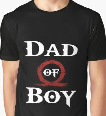 Dad of Boy Graphic T-Shirt