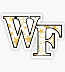 Wake Forest Star Logo Sticker