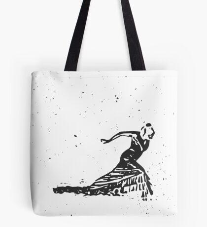 Snow Dancer Tote Bag