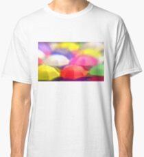 """Umbrella Rainbow"", Photo / Digital Painting Classic T-Shirt"