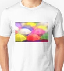 """Umbrella Rainbow"", Photo / Digital Painting Unisex T-Shirt"