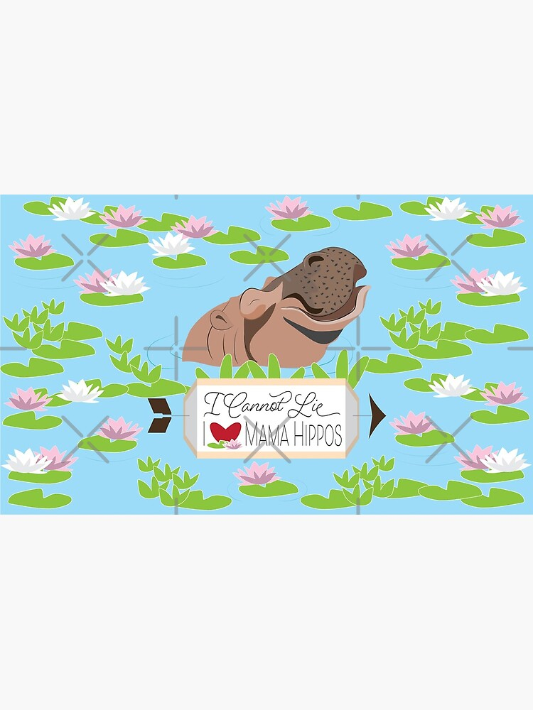 Love Mama Hippos by CreativeContour
