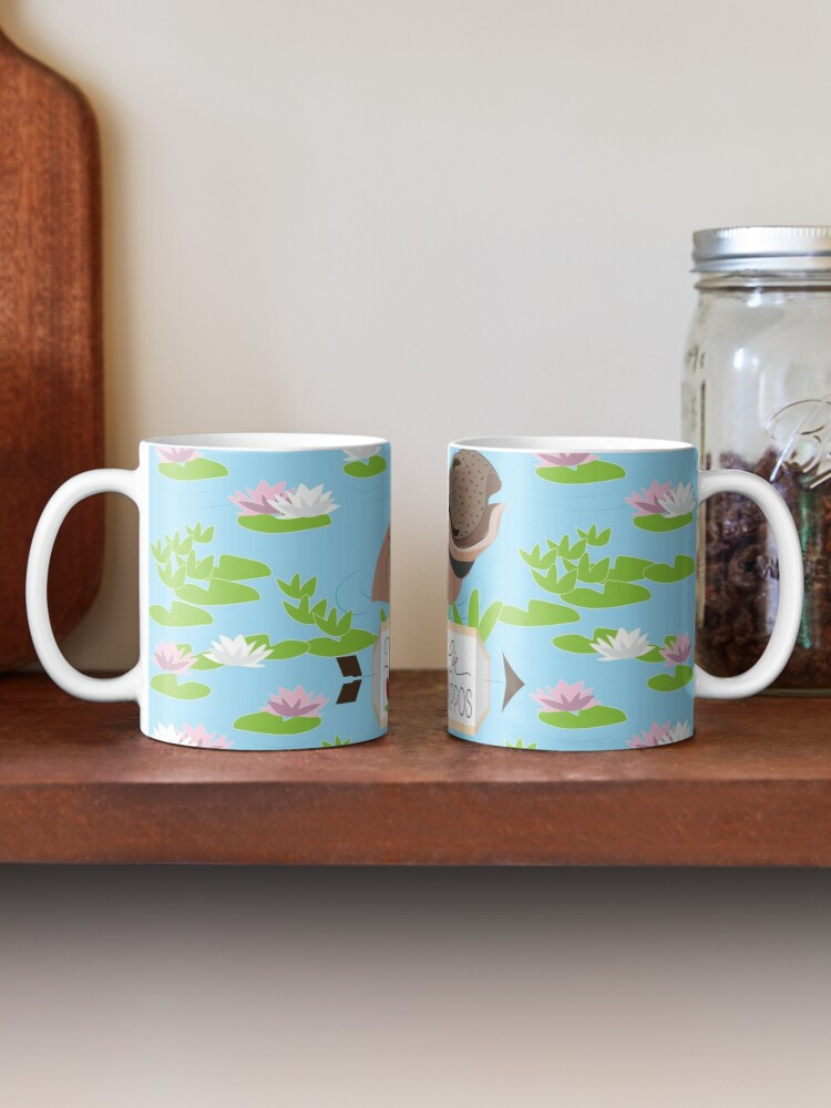 Alternate view of Love Mama Hippos Mug