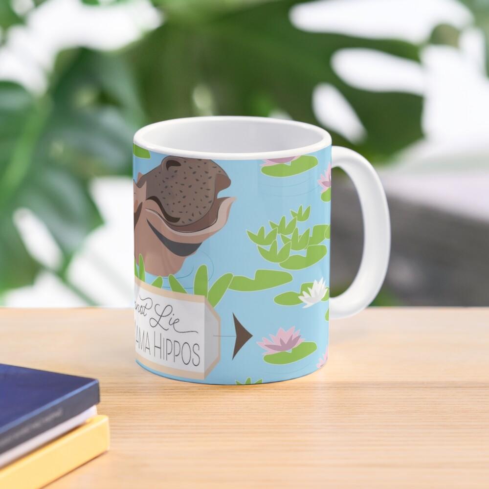 Love Mama Hippos Mug