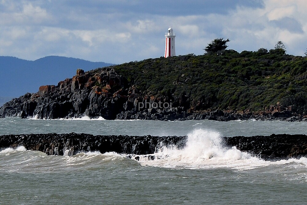 photoj Tas, Devonport, Rough Sea's by photoj