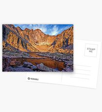 First Light at Chasm Lake Postcards