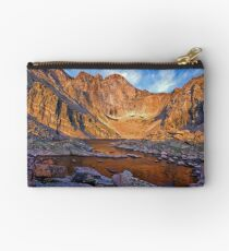 First Light at Chasm Lake Studio Pouch