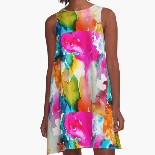 Spring Life A-Line Dress