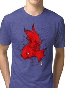 Koi | red Tri-blend T-Shirt