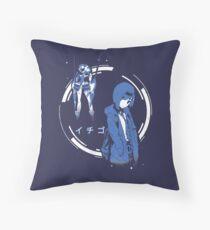 Ichigo - Delphinium | Darling in the Franxx Throw Pillow