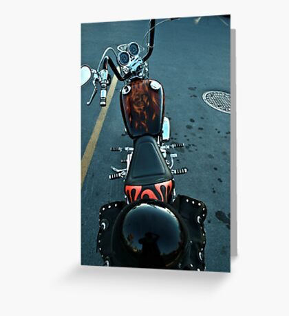 My Bike Not:)))))))) Greeting Card