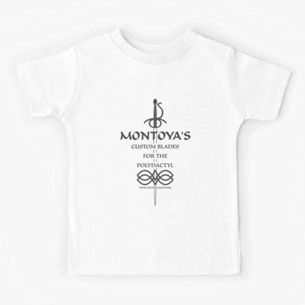 Montoya's Custom Blades for the Polydactyl Kids T-Shirt
