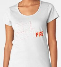 ❤♫Love BTS-Fire By Bangtan Boys♪❤ Women's Premium T-Shirt