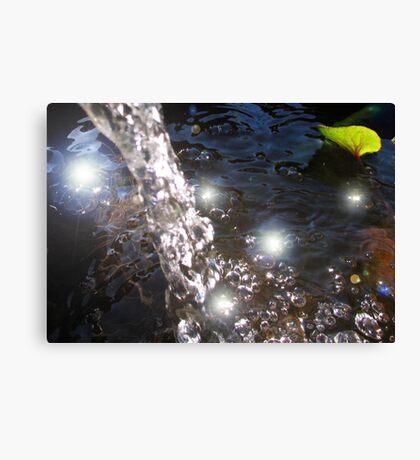 Fairy pools - lightning Sprites Canvas Print
