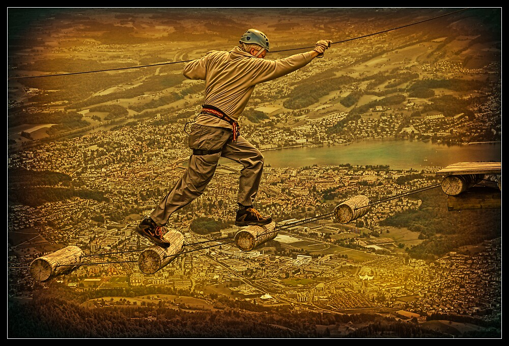 Walking in the sky. by egold