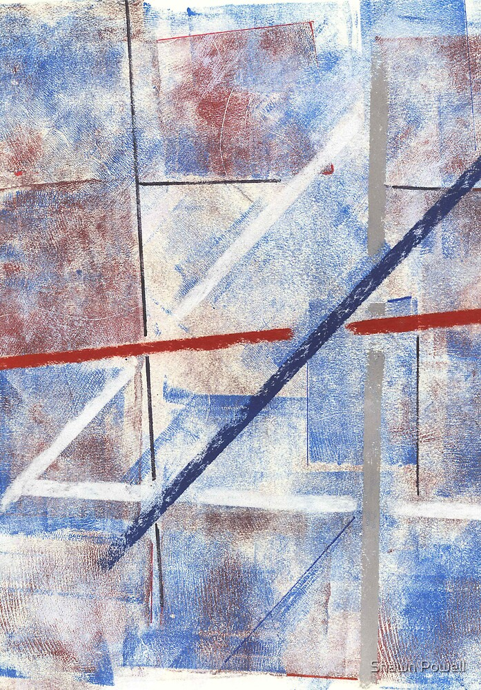 Abstract 2 by Shawn Powell