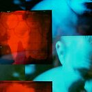 untitled - self portrait - grid series #2, detail by Stephen Sheffield