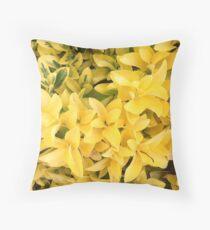 """""""Yellow's Delight"""", Photo Artwork Throw Pillow"""