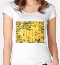 """Yellow's Delight"", Photo Artwork Women's Fitted Scoop T-Shirt"