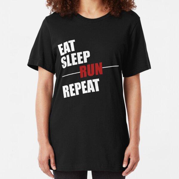 Parkour Jogging Eat Sleep Run Repeat Hoodie Free Running Marathon