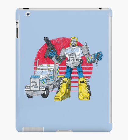 Big Robot in Little China iPad Case/Skin