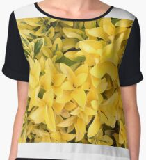 """Yellow's Delight"", Photo Artwork Chiffon Top"
