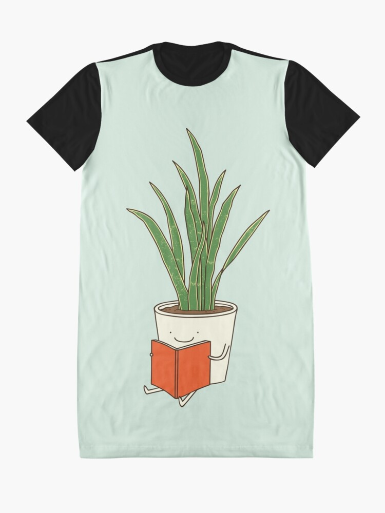 Alternate view of Indoor plant Graphic T-Shirt Dress
