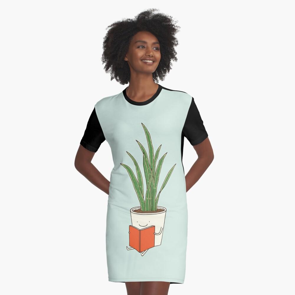 Indoor plant Graphic T-Shirt Dress