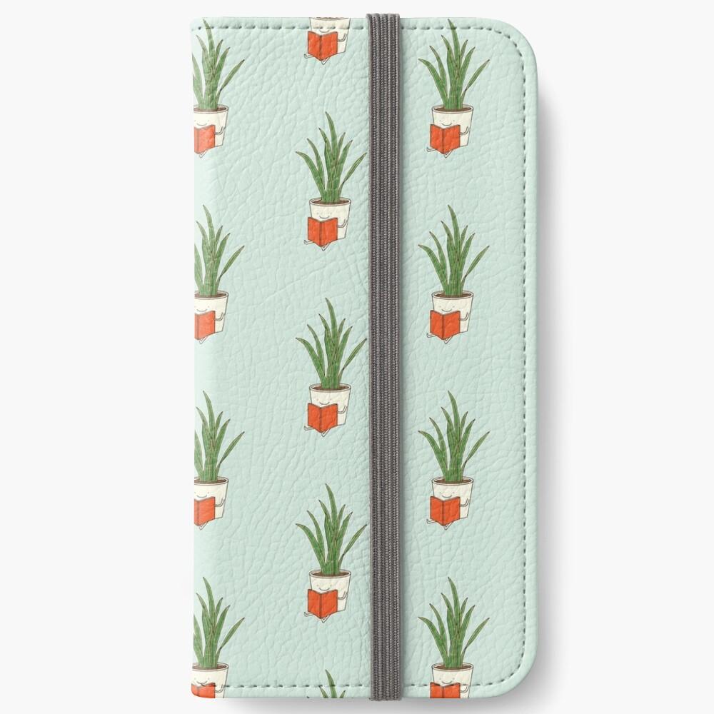 Indoor plant iPhone Wallet