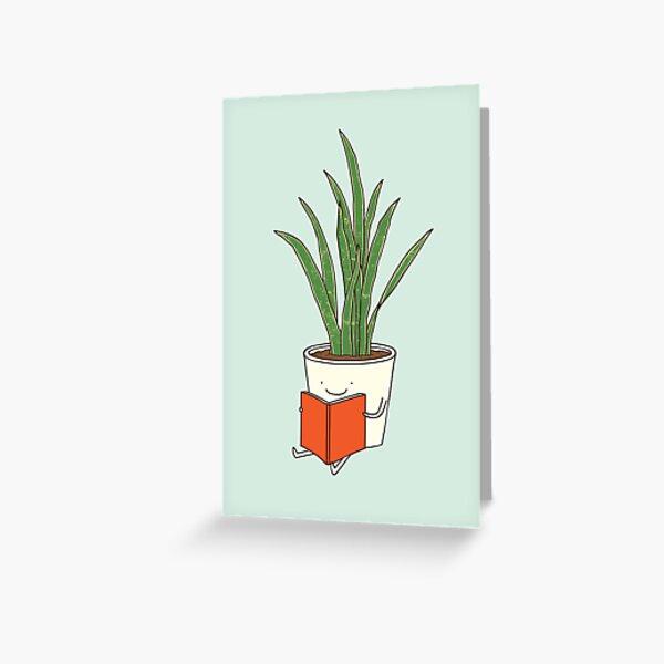 Plante d'intérieur Carte de vœux