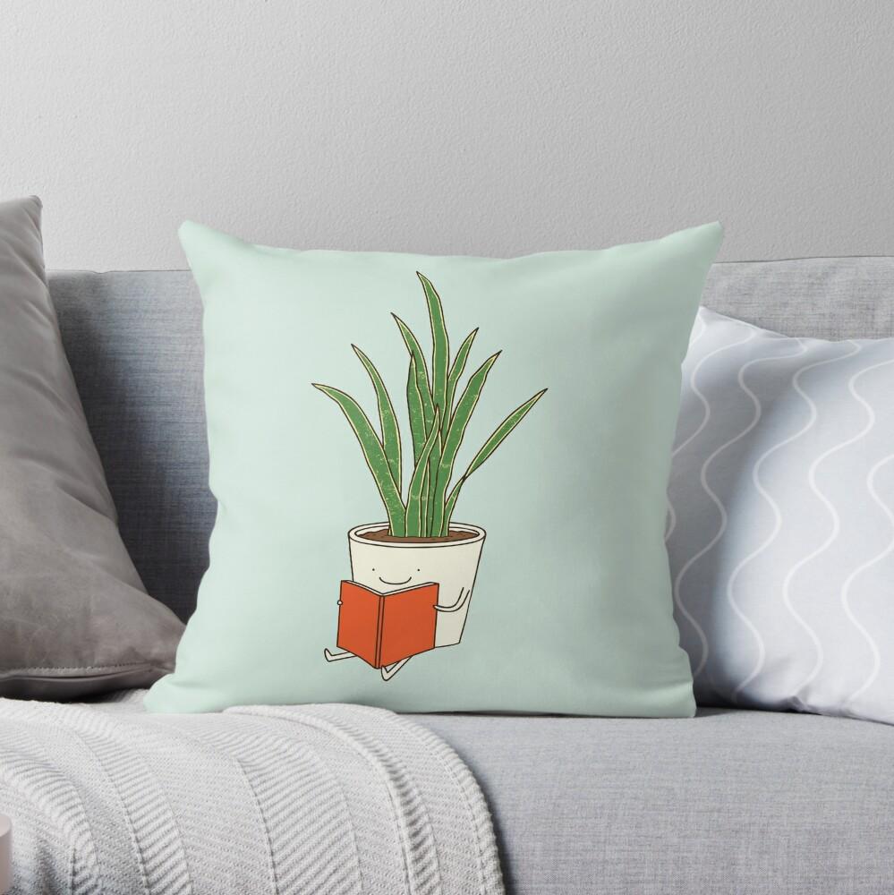 Indoor plant Throw Pillow