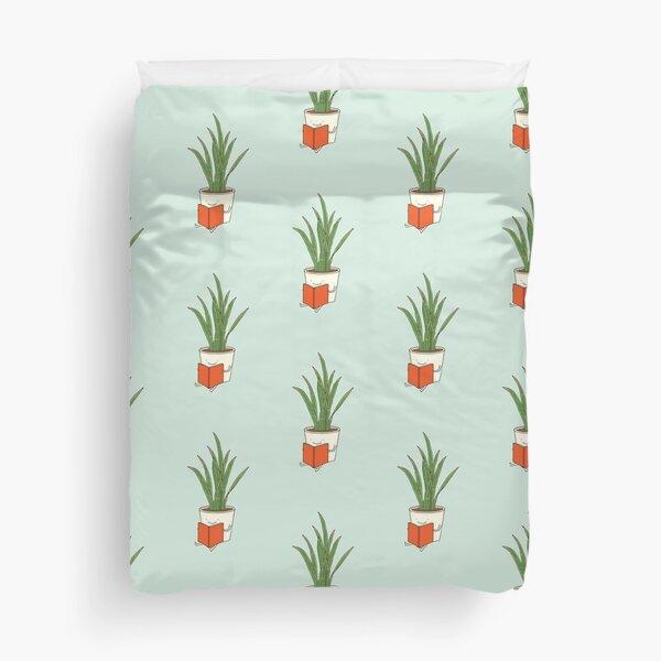 Zimmerpflanze Bettbezug