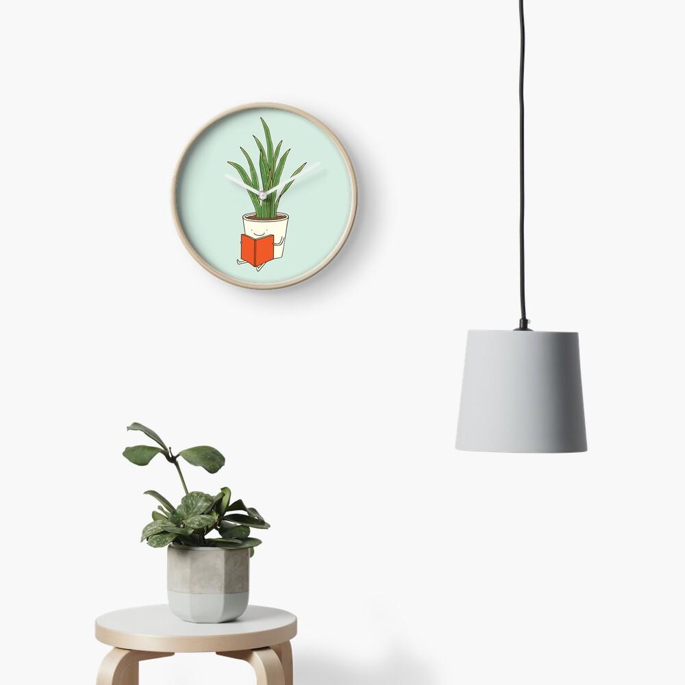 Indoor plant Clock