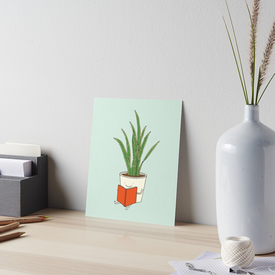 Indoor plant Art Board Print