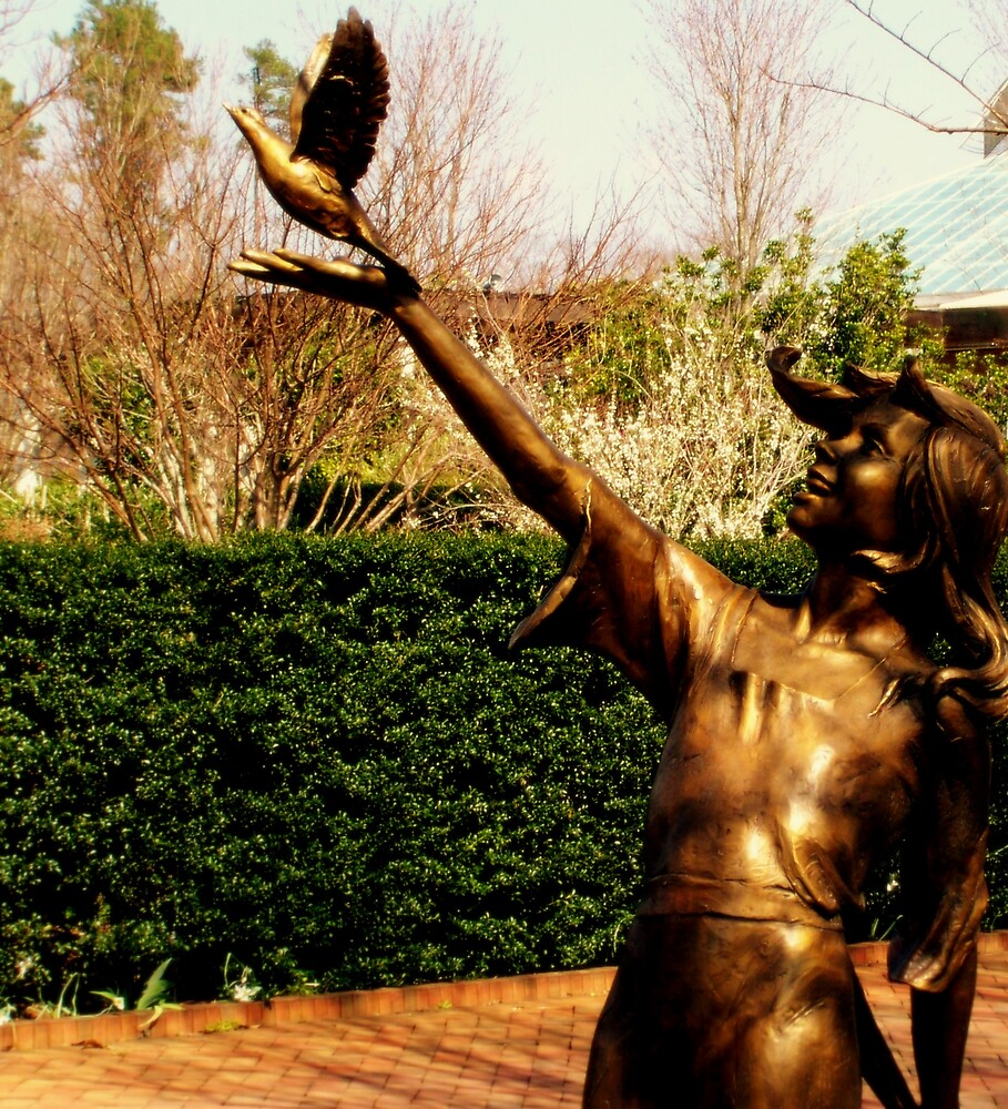 A Statue's Joy by Kelsey Williams