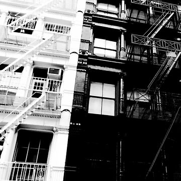 New York City B/W by D-NINI