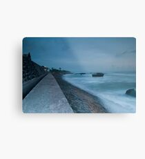 Eco Beach Metal Print