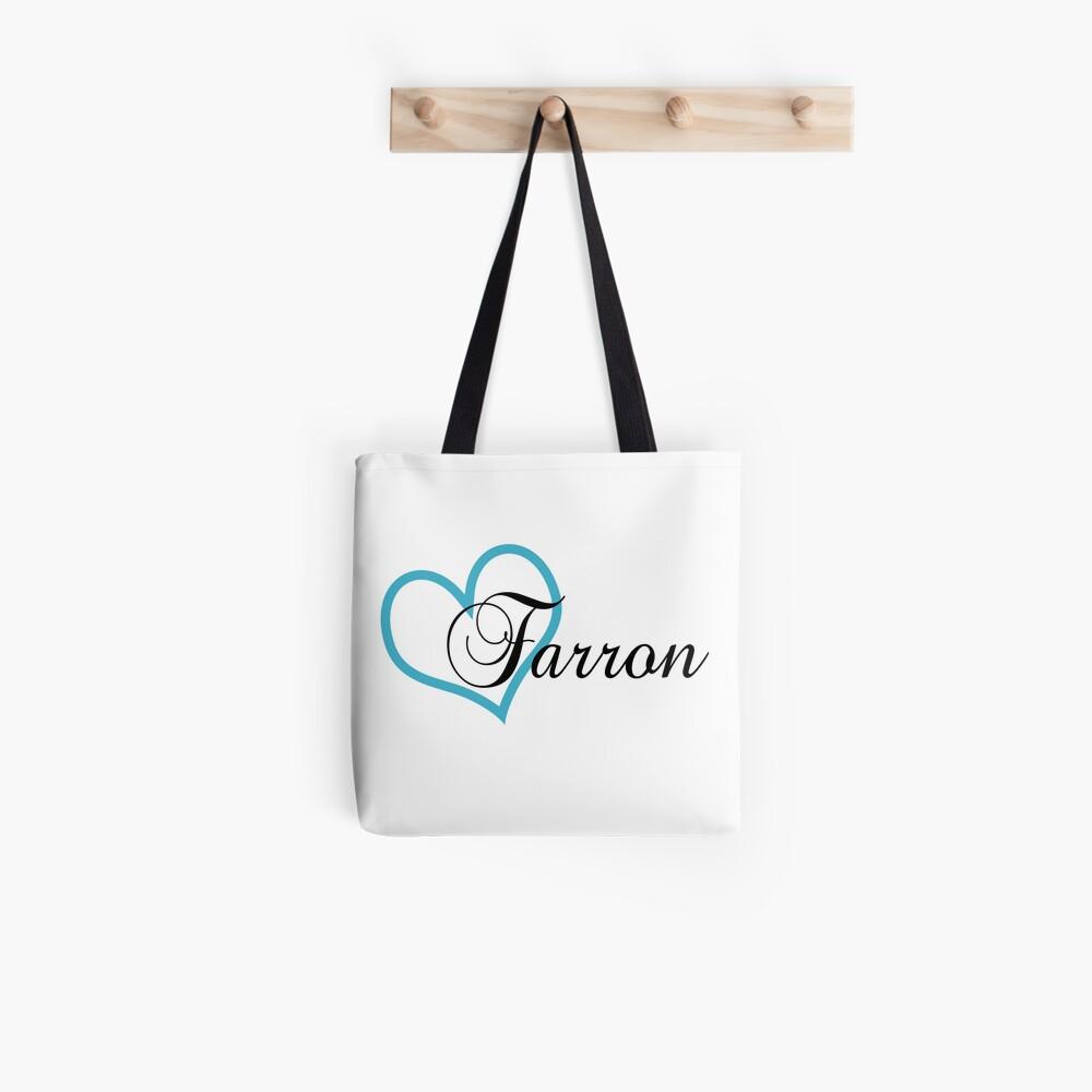 Heart Farron Tote Bag