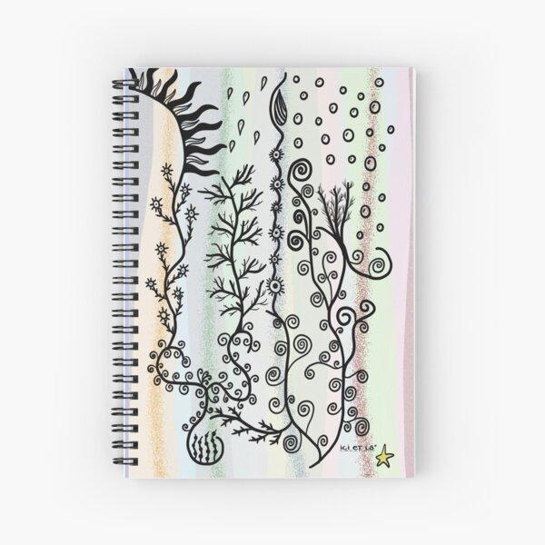 Flore- Flora Cahier à spirale