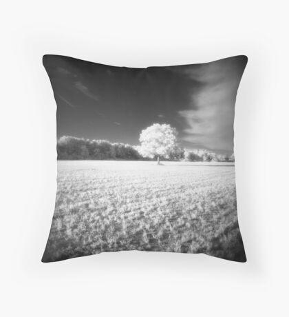 Holga Infrared Tree #7 Throw Pillow