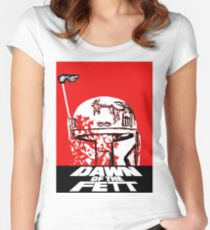 DAWN OF THE FETT Women's Fitted Scoop T-Shirt