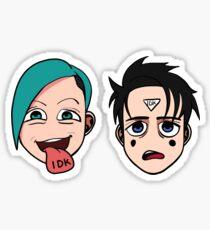 idk Sticker