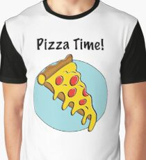 It is always Pizza Time! Graphic T-Shirt