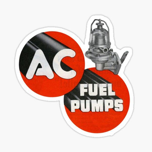 1950s Automobili. The Fuel Pump!  Sticker