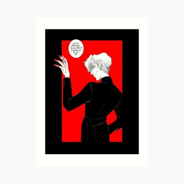 Ego Te Absolvo Art Print